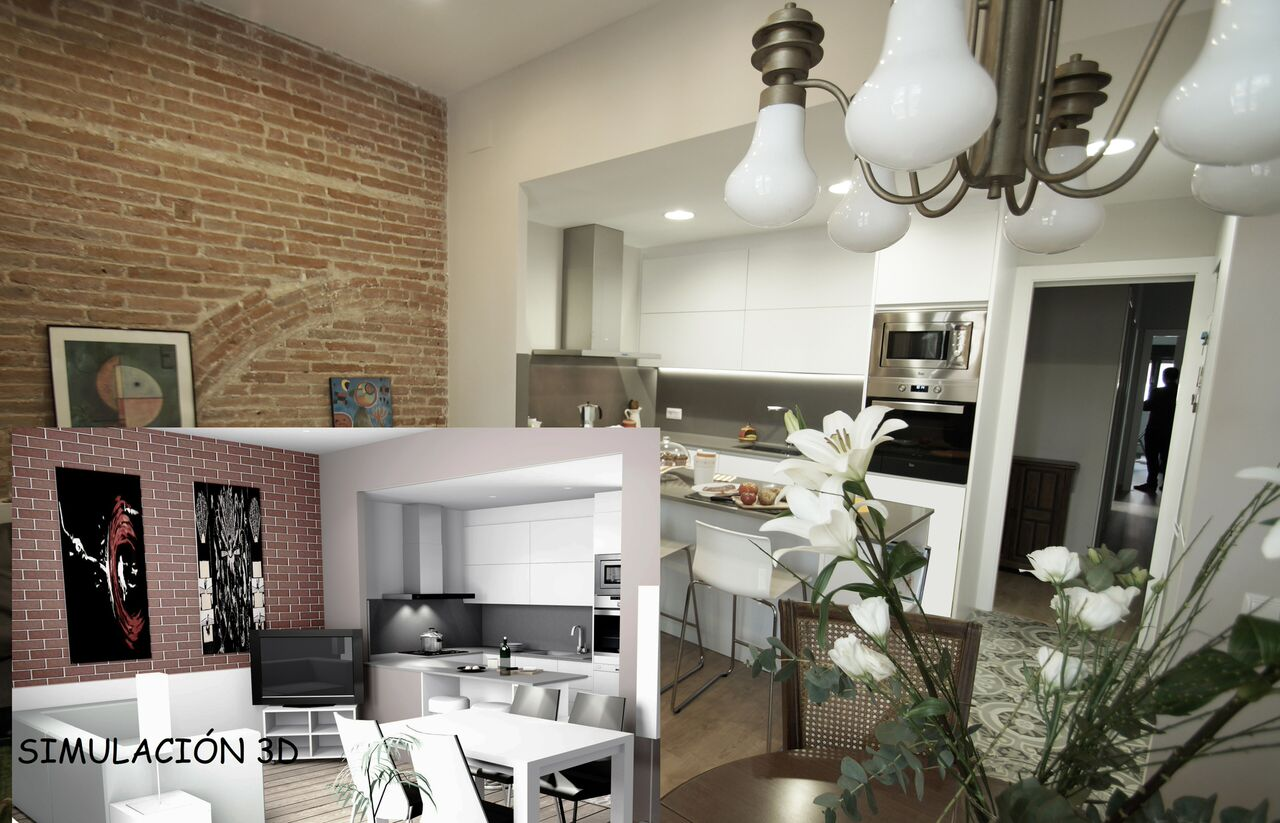 simulacion 3d reformas de casas